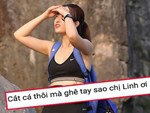 Người đẹp Việt gây tranh cãi khi lộ hàng ở Cuộc đua kỳ thú-3