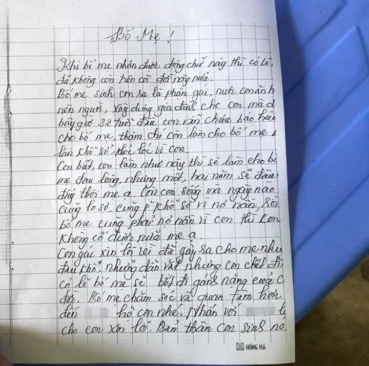 Tuyên Quang: Hé lộ bức thư tuyệt mệnh của cô giáo tự tử bằng thuốc diệt cỏ-2