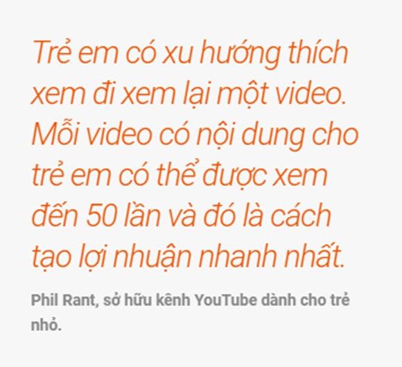 Lý do trẻ em trở thành công cụ câu view, cày tiền trên YouTube-4