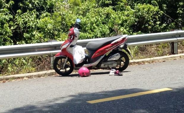 Tham quan bán đảo Sơn Trà, 2 bà cháu bị ngã xe văng xuống vực tử vong-1