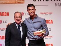 Ronaldo: 'Tôi rất tiếc khi phải rời Real Madrid'