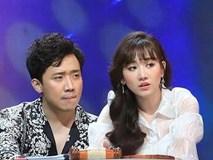 Hari Won liên tục bị Trấn Thành chỉnh vì nói khó hiểu khi làm MC