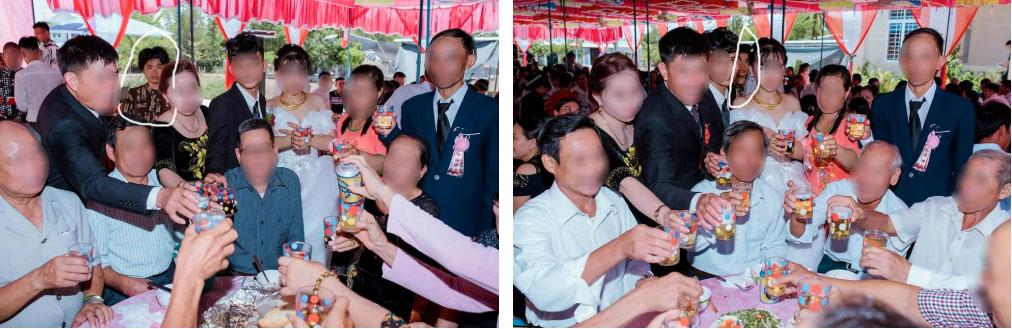 Dân mạng ám ảnh với thánh nữ chụp ké ở đám cưới: Thoắt ẩn thoắt hiện, luôn tìm cách ghé mặt vào mọi khung hình-2