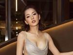 Chi Pu vấp ngã trên sân khấu Hoa hậu Thế giới Việt Nam-1