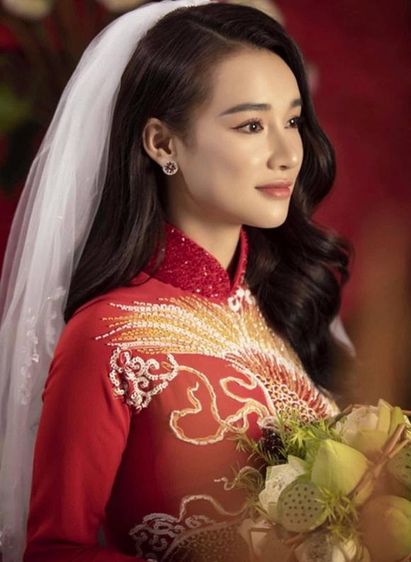 Nhã Phương đốn tim người hâm mộ khi khoác lên mình chiếc áo cô dâu-10