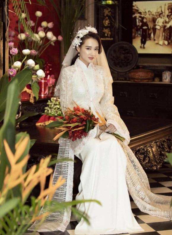 Nhã Phương đốn tim người hâm mộ khi khoác lên mình chiếc áo cô dâu-6