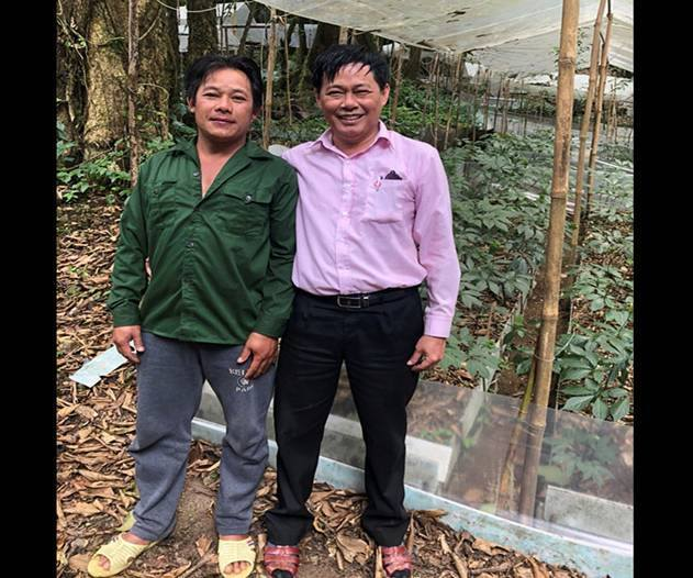 Giàu nhất vùng, tỷ phú Cadong trồng 10ha sâm Ngọc Linh trên rừng-2