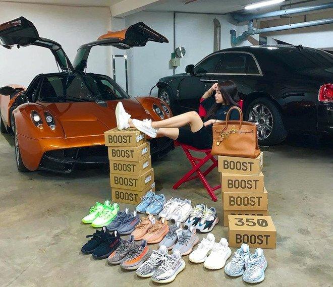 Con gái Minh Nhựa sở hữu chục đôi giày hiếm, xách túi 350 triệu đồng-2