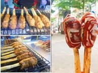 Mới bán được 1 năm, quán thịt bao mía Khâm Thiên khiến blogger Hàn Quốc 'mê như điếu đổ'