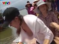 Phản ứng của VTV sau vụ người đẹp lộ hàng ở Cuộc đua kỳ thú