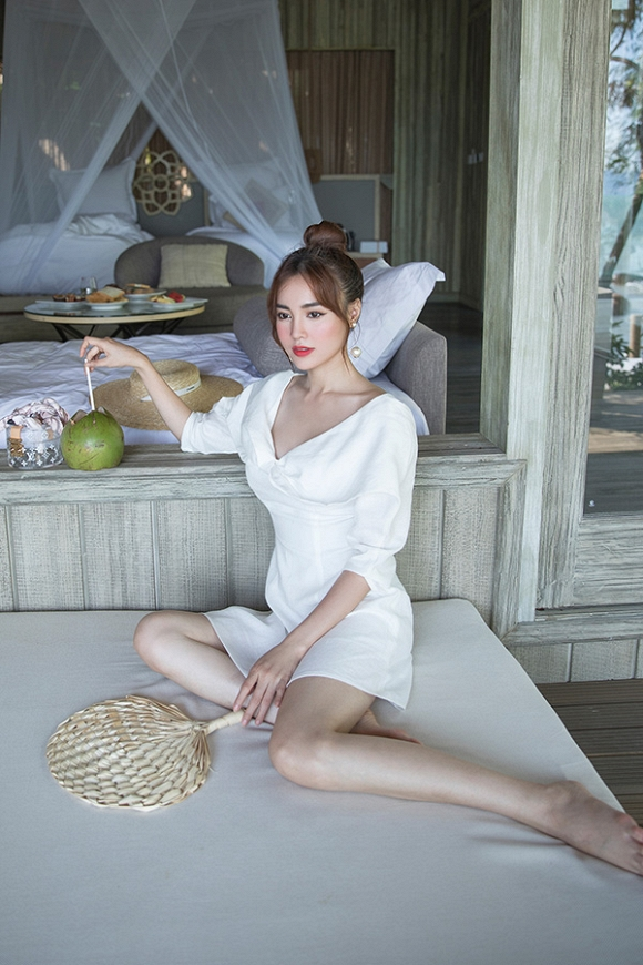Ninh Dương Lan Ngọc xuất hiện xinh đẹp và thần thái trong bộ ảnh mới-1