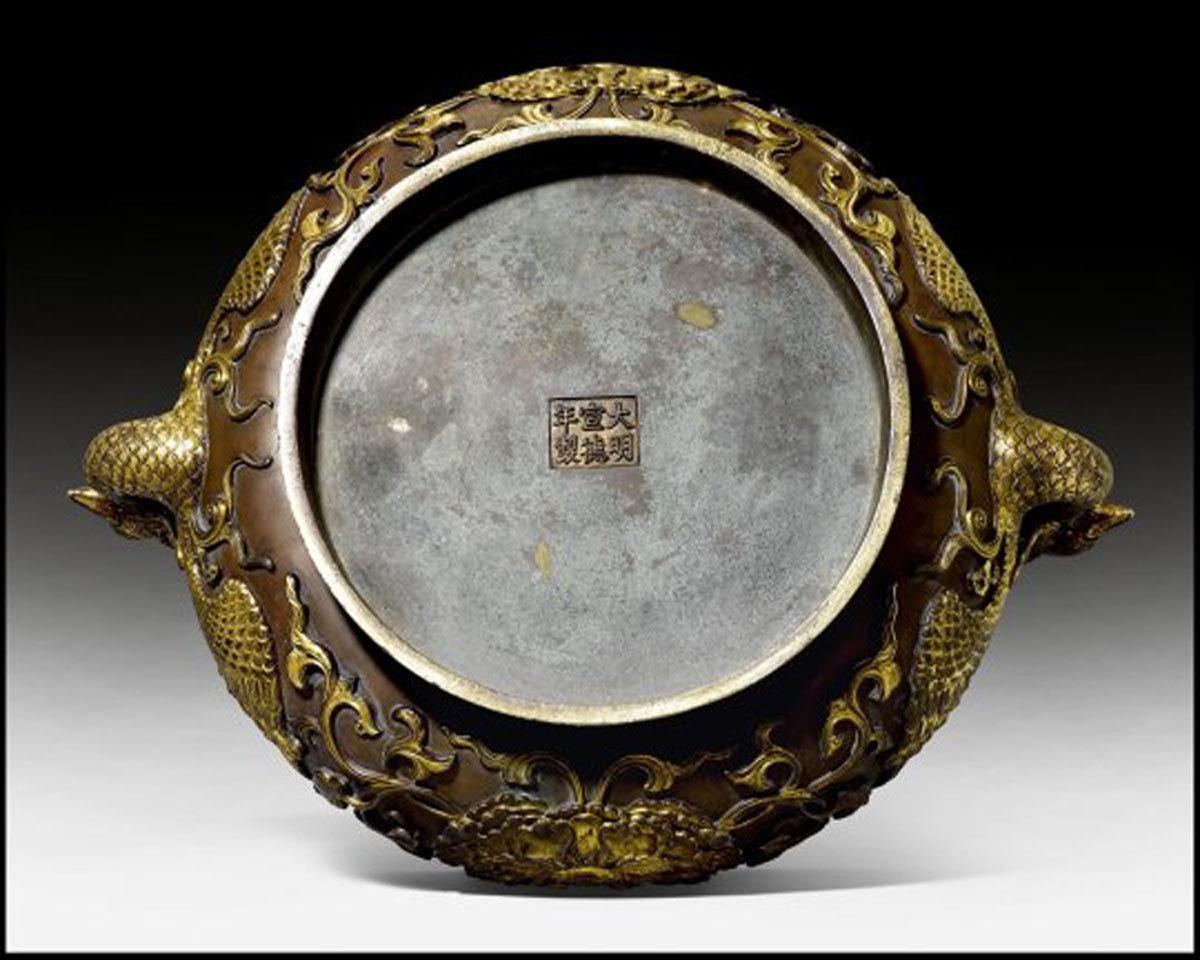 Ngỡ ngàng chiếc bát bằng đồng cũ, tưởng bỏ đi giá 100 tỷ-1