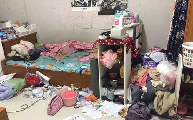 Cô nàng bị bạn trai tố ở bẩn hôi thối như bãi rác, đồ lót ngâm bốc mùi trong chậu không giặt...-1