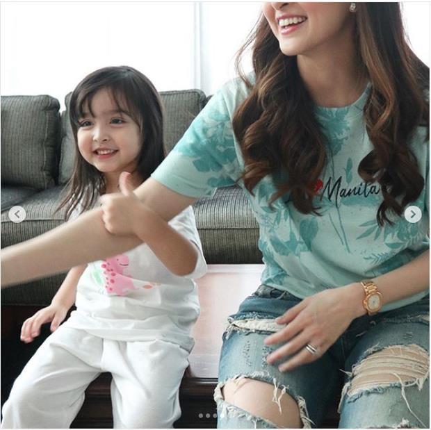 Con gái mỹ nhân đẹp nhất Philippines được khen xinh như thiên thần-3