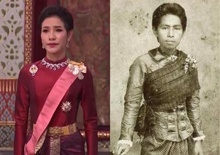 Lần đầu tiên trong lịch sử hiện đại, vua Thái Lan công bố vợ lẽ, sắc phong Hoàng quý phi, vẻ mặt Hoàng hậu ngồi bên cạnh mới đáng chú ý-4