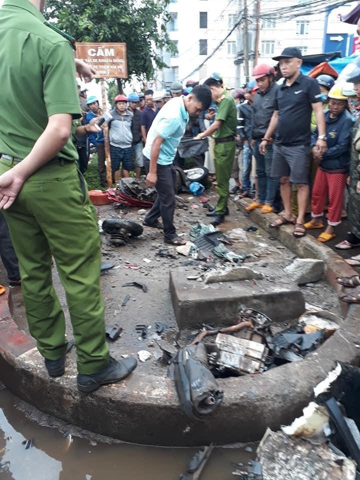 Video: Hiện trường xe khách lao vào chợ, tông hàng loạt người đang mua bán, ít nhất 3 người chết-2