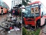 Vụ xe khách tông chết 4 người: Cảnh tượng thật kinh hoàng-3
