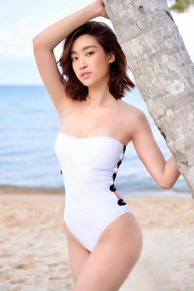 Những lần hiếm hoi Đỗ Mỹ Linh khoe body đẹp từng centimet với bikini-4