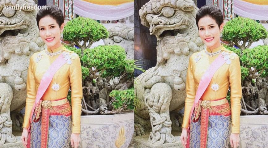 Hóa ra Hoàng quý phi Thái Lan đã âm thầm cạnh tranh với vợ cả từ lâu với những điểm giống nhau đến ngỡ ngàng-9