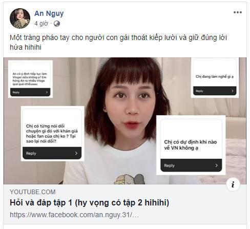 An Nguy ẩn ý về scandal với Kiều Minh Tuấn: Có những chuyện mình dám nói thật, liệu các bạn có dám tin hay không?-1