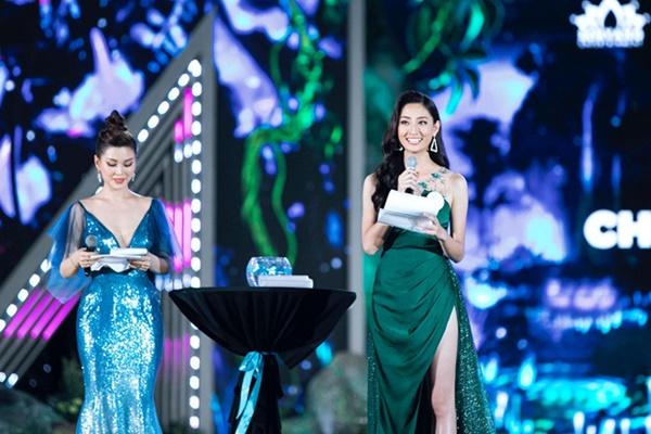 Câu trả lời ứng xử gây bất ngờ của Hoa hậu Lương Thùy Linh-1