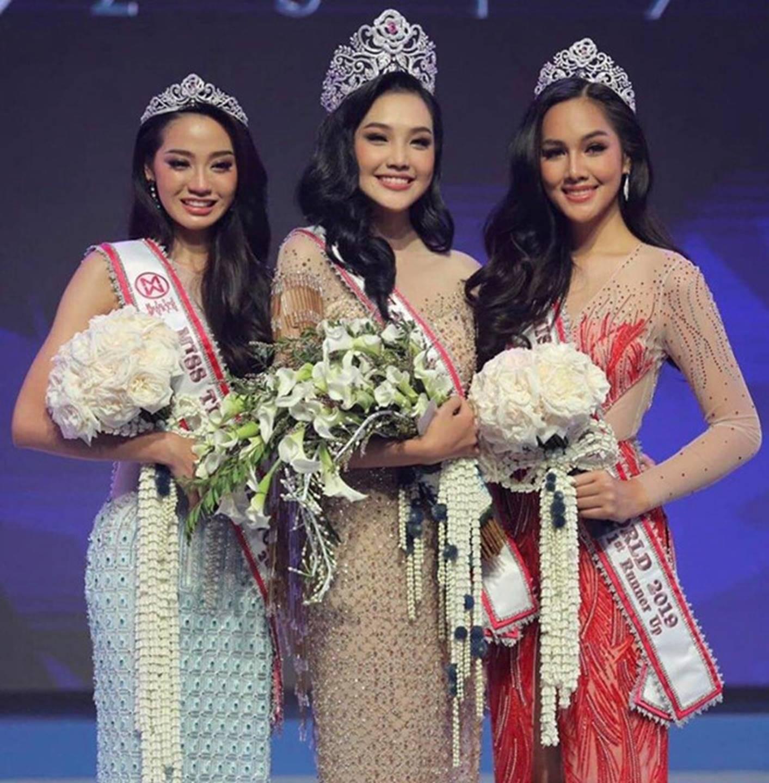 Nhan sắc 9X Thái Lan là đối thủ của Lương Thùy Linh ở Miss World 2019-2