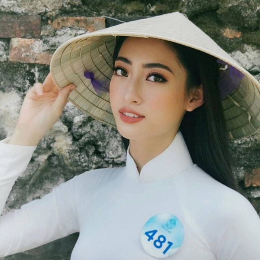 Mặt mộc xinh đẹp của Hoa hậu thế giới Vietnam Lương Thuỳ Linh-1