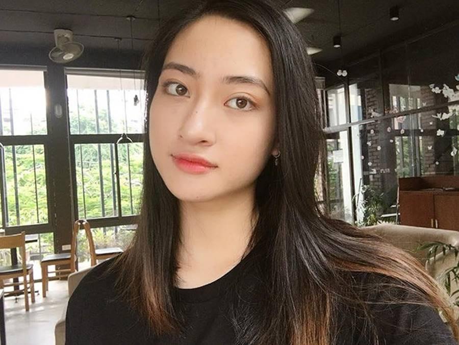 Mặt mộc xinh đẹp của Hoa hậu thế giới Vietnam Lương Thuỳ Linh-3