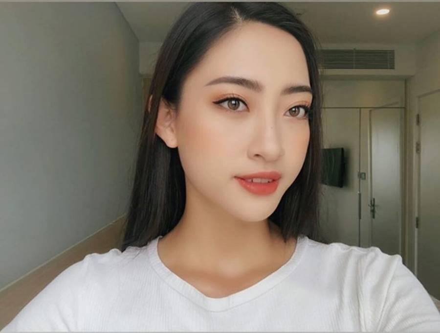 Mặt mộc xinh đẹp của Hoa hậu thế giới Vietnam Lương Thuỳ Linh-4