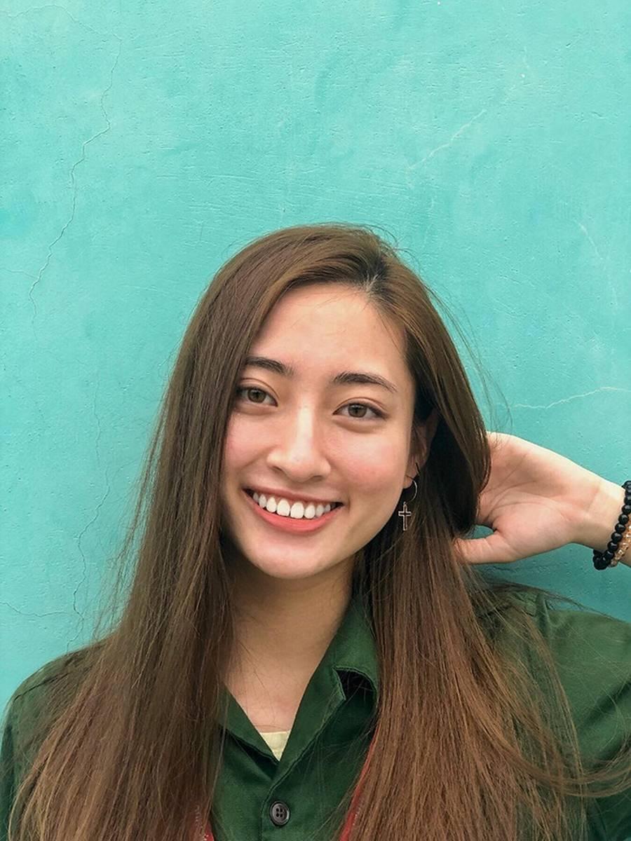 Mặt mộc xinh đẹp của Hoa hậu thế giới Vietnam Lương Thuỳ Linh-7