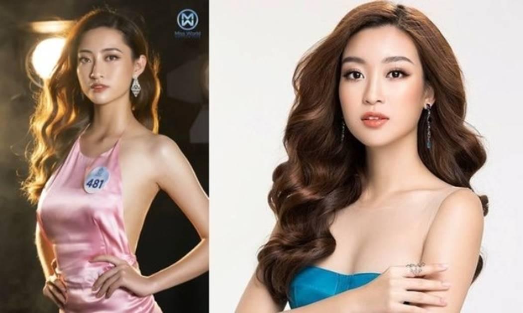Ngỡ ngàng sự giống nhau của Hoa hậu Lương Thùy Linh và Đỗ Mỹ Linh-2