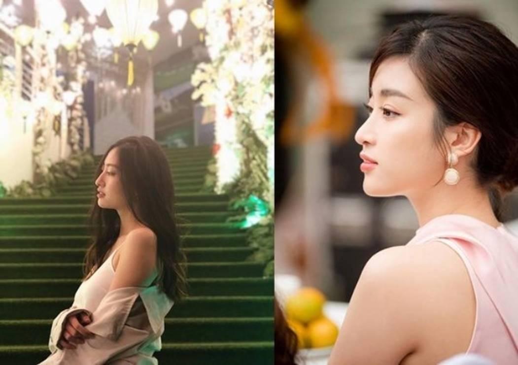 Ngỡ ngàng sự giống nhau của Hoa hậu Lương Thùy Linh và Đỗ Mỹ Linh-4