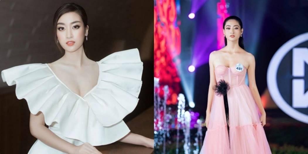Ngỡ ngàng sự giống nhau của Hoa hậu Lương Thùy Linh và Đỗ Mỹ Linh-7