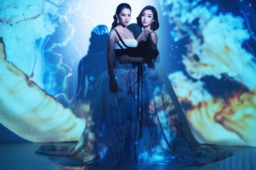 Đỗ Mỹ Linh, Tiểu Vy đẹp mê hoặc trong hình tượng nữ thần biển cả-10