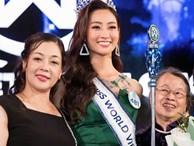 Gia thế 'khủng' của Hoa hậu Lương Thùy Linh: Mẹ làm giám đốc kho bạc