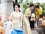 Trước khi lập Hoàng quý phi, Hoàng hậu Thái Lan vẫn ân cần chăm sóc chồng một cách tinh tế, khẳng định vị trí vợ cả của mình-4