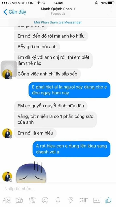Phan Mạnh Quỳnh bị tố quỵt tiền, vô ơn với người từng nâng đỡ khi mới vào nghề nhưng người bóc phốt lại bị cộng đồng mạng ném đá đến mức phải xóa bài-3