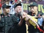 Danh tính Đại úy CSCĐ tỉnh Nam Định dùng tay chèn miệng bé trai trên sân vận động-2