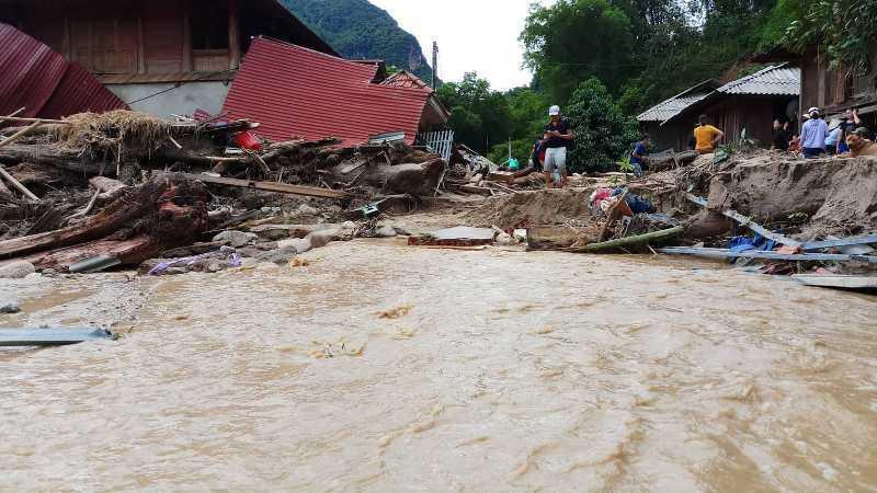 Tang thương gia đình 5 người ở Thanh Hóa bị lũ cuốn trôi-5