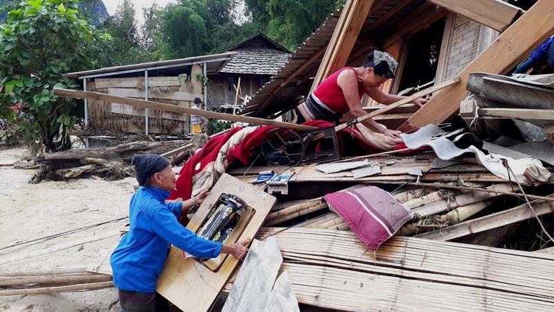 Tang thương gia đình 5 người ở Thanh Hóa bị lũ cuốn trôi-9