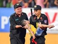 Danh tính Đại úy CSCĐ tỉnh Nam Định dùng tay chèn miệng bé trai trên sân vận động