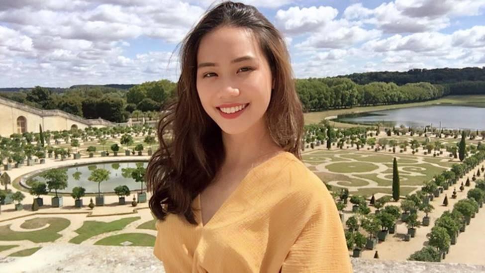 Dàn hot girl ĐH Ngoại thương xinh như hoa hậu Lương Thùy Linh-19