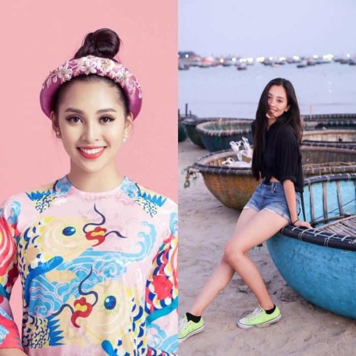 So mặt mộc đời thường của các hoa hậu Việt Nam-6