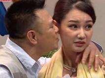 Quỳnh Chi 'đứng hình' khi NSƯT Tự Long hôn bất ngờ ở Ơn giời