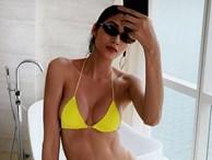 Á hậu Hoàng Thuỳ khoe body đầy đặn, sexy 'bỏng mắt' với bikini