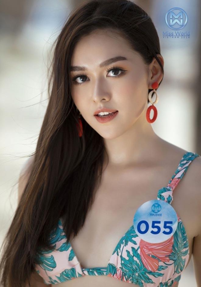 Cận cảnh vẻ xinh đẹp, gợi cảm của Á hậu 2 Hoa hậu Thế giới Việt Nam Nguyễn Tường San-3