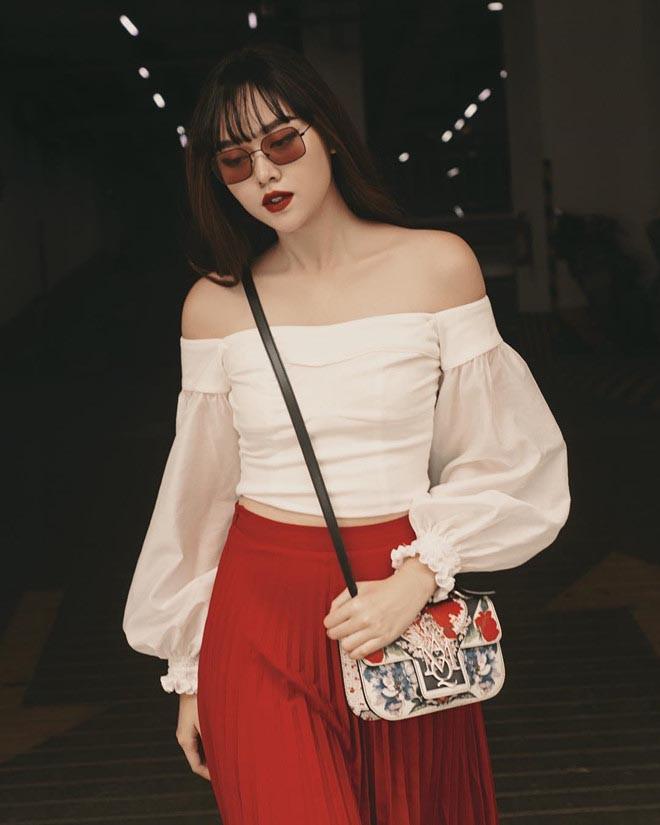 Cận cảnh vẻ xinh đẹp, gợi cảm của Á hậu 2 Hoa hậu Thế giới Việt Nam Nguyễn Tường San-12