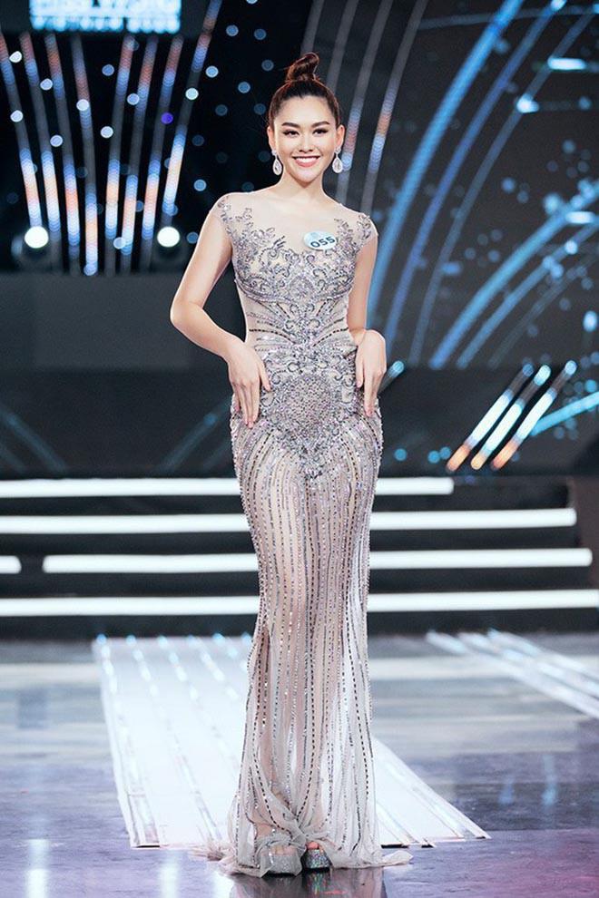 Cận cảnh vẻ xinh đẹp, gợi cảm của Á hậu 2 Hoa hậu Thế giới Việt Nam Nguyễn Tường San-2