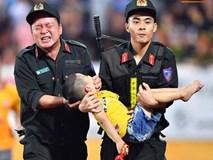 Tâm sự của chiến sỹ CSCĐ chịu đau, cứu bé trai ngất xỉu trên sân Thiên Trường: