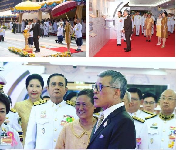Trước khi lập Hoàng quý phi, Hoàng hậu Thái Lan vẫn ân cần chăm sóc chồng một cách tinh tế, khẳng định vị trí vợ cả của mình-2